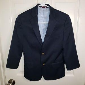 Tommy Hilfiger Boys Navy Blue Sport Jacket Sz 10